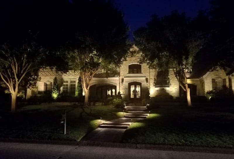 Landscape Lighting In Austin San Antonio Enhanced
