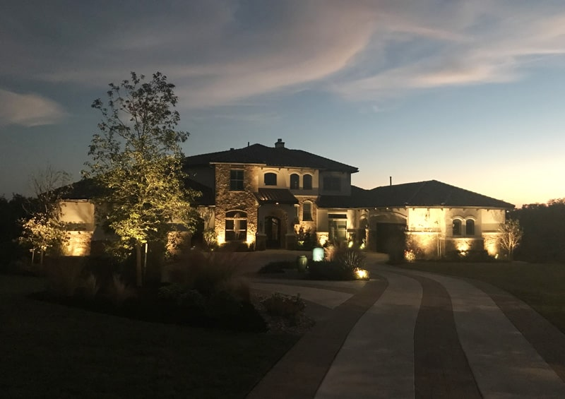 Outdoor lighting services in austin tx enhanced lighting best outdoor lighting in austin texas aloadofball Images